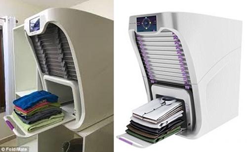 Hình ảnh thực tế chiếc máy giặt thông minhFoldiMate