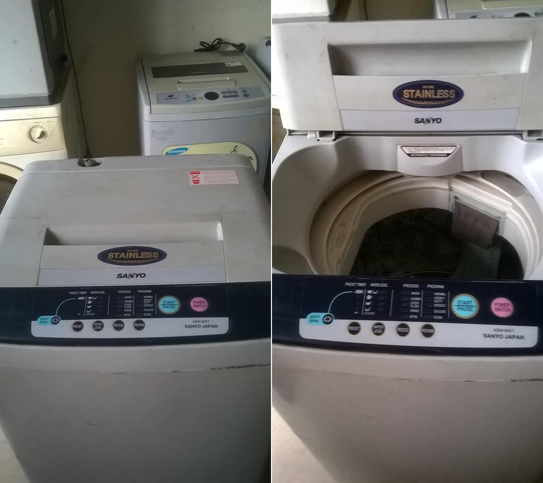 Bán máy giặt Sanyo cũ