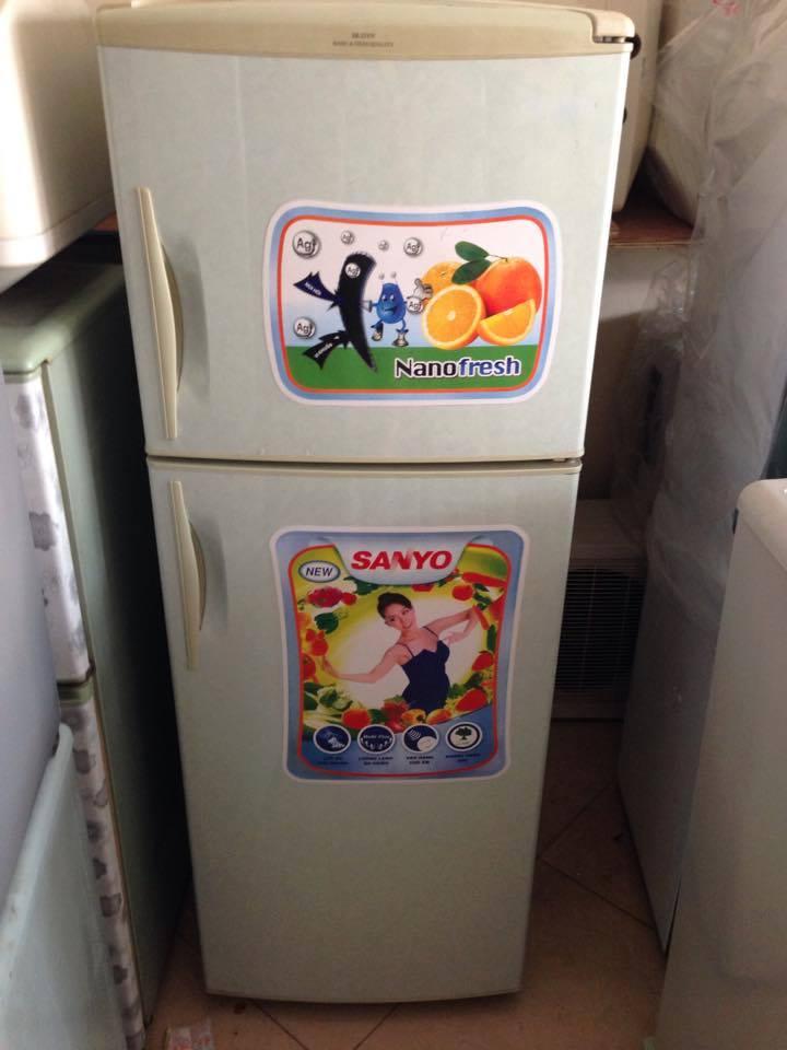 Mẫu tủ lạnh Sanyo cũ nhiều người đặt mua
