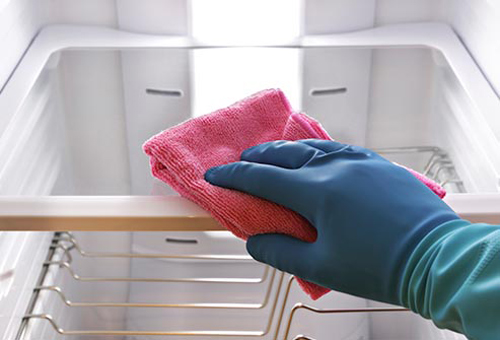 Phát hiện mầm bệnh nguy hiểm ngăn chứa nước tủ lạnh