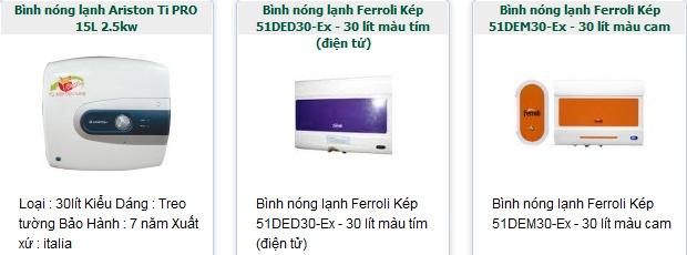 Những chi tiết cần kiểm tra kỹ khi mua bình nóng lạnh mới